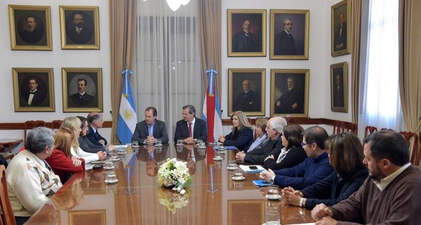 Bordet hará gestiones ante la Nación por el presupuesto de la UNER