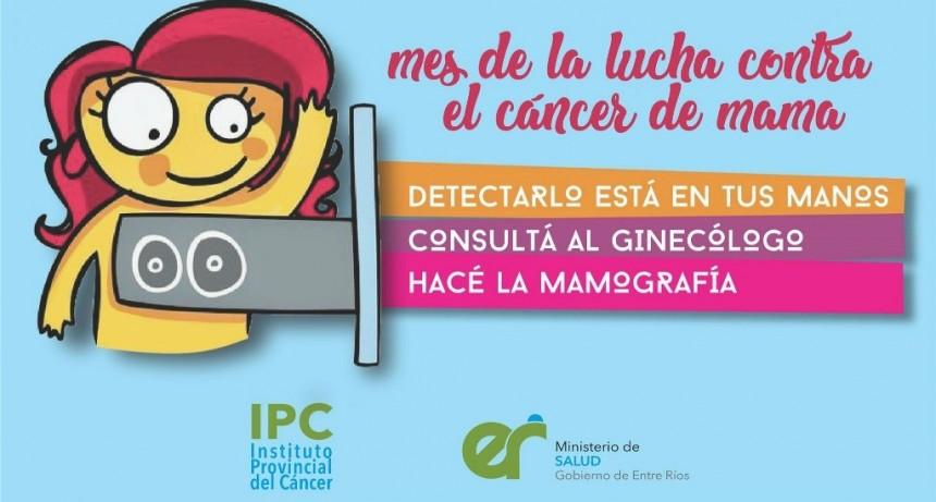 Destinan el mes de octubre para sensibilizar sobre el cáncer de mama