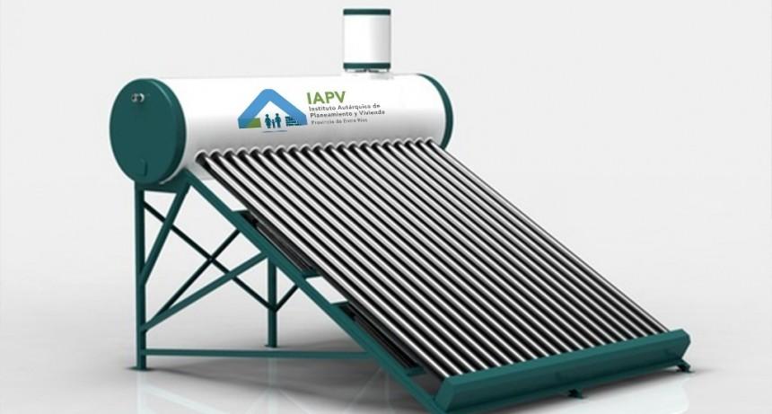 Entre Ríos incorpora termotanques solares a las viviendas que construye con recursos provinciales