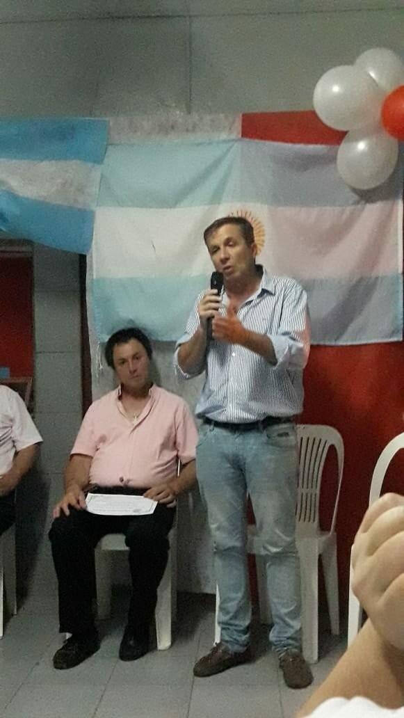 Beltrán Lora participó de la asunción de las nuevas autoridades de la UCR en Hernandez