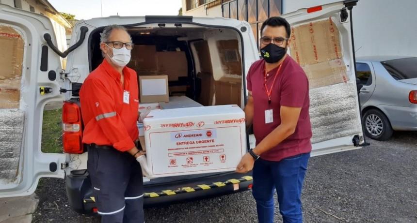 Llegaron 16.000 dosis de vacunas Covishield contra el Covid a Entre Ríos
