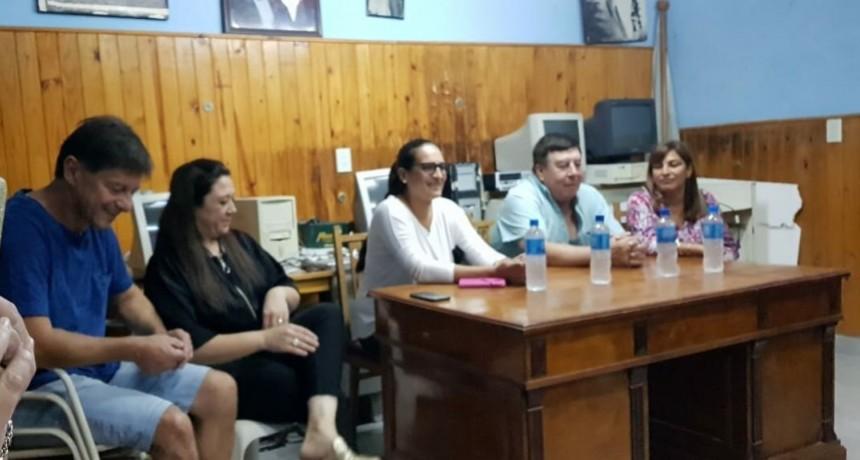 MAIDANA, BLASÓN Y TUCKSCHEWITZ HABLARON EN ACTO DEL PJ LUCAS GONZÁLEZ