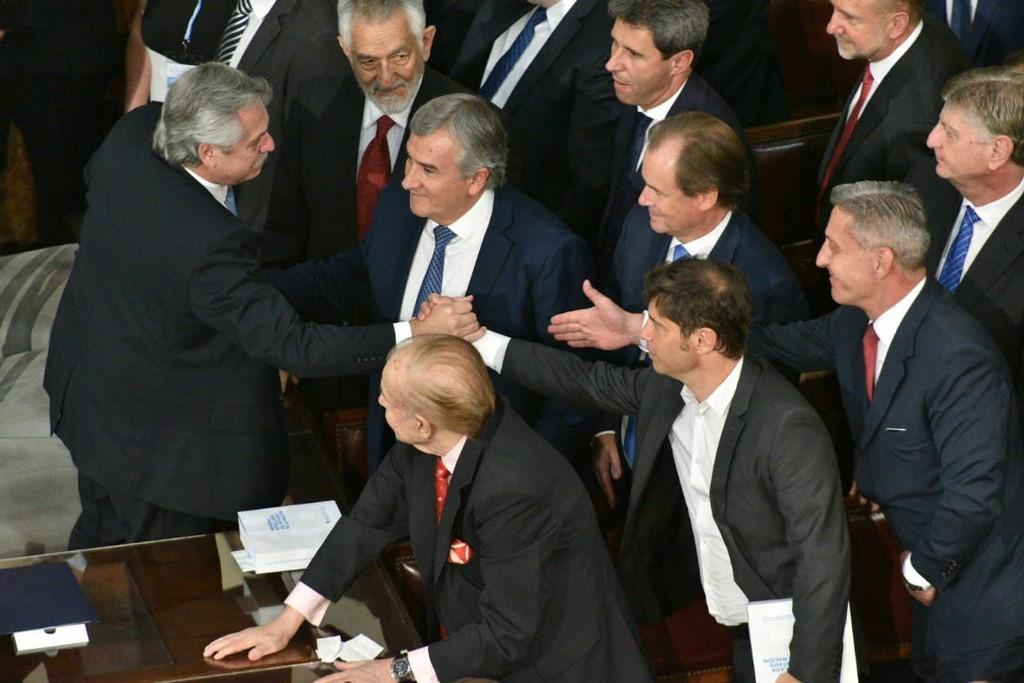 """Bordet sobre el discurso de Alberto Fernández: """"Nos da confianza y fortaleza"""""""