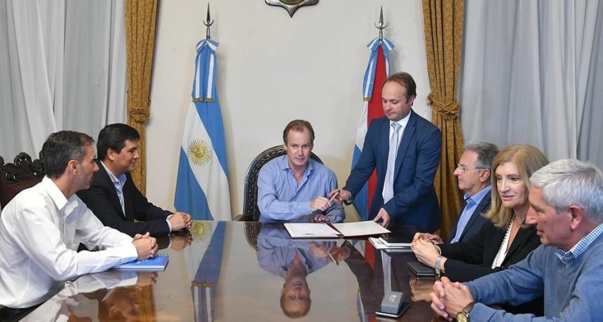 """""""Aspiro a completar mi tarea de gobierno en Entre Ríos los próximos cuatro años"""", aseguró Bordet"""