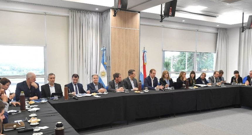 """Bordet: """"A pesar de las dificultades nacionales tenemos una provincia en marcha"""""""