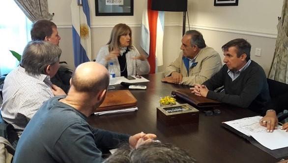El Senador Lora se reunió con Rosario Romero