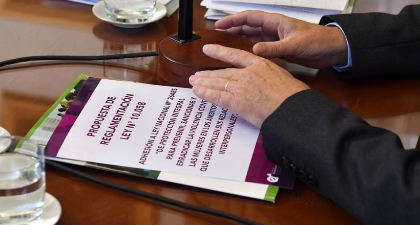 Se reglamenta en Entre Ríos la ley de protección para prevenir y sancionar la violencia contra la mujer