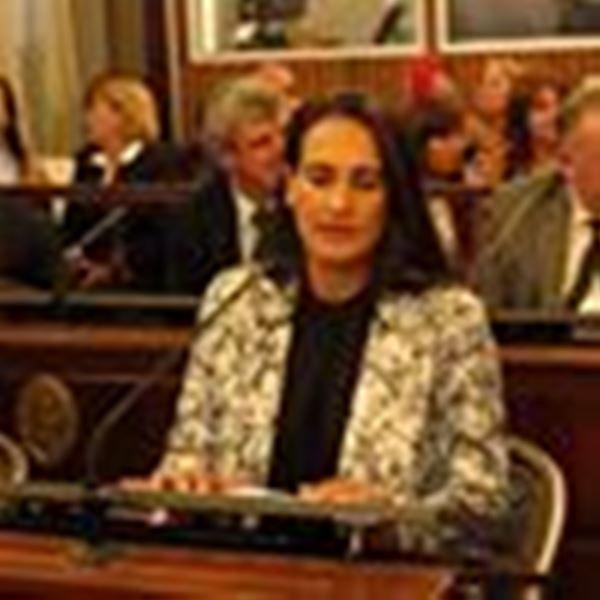 Senadora Flavia Maidana: Interesante proyecto para Lucas González