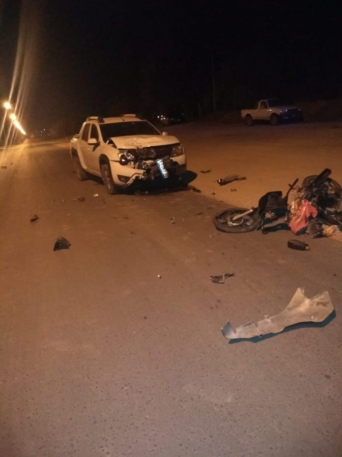 Nogoyá: grave accidente de tránsito