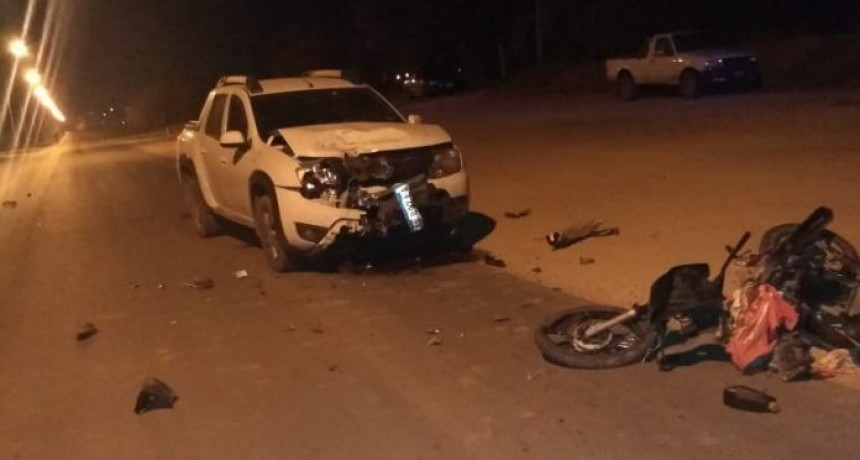 Nogoyá: grave accidente de tránsito