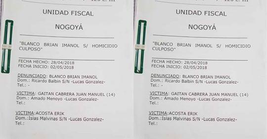 OTORGARON  LA PRISIÓN DOMICILIARIA PARA BRIAN BLANCO