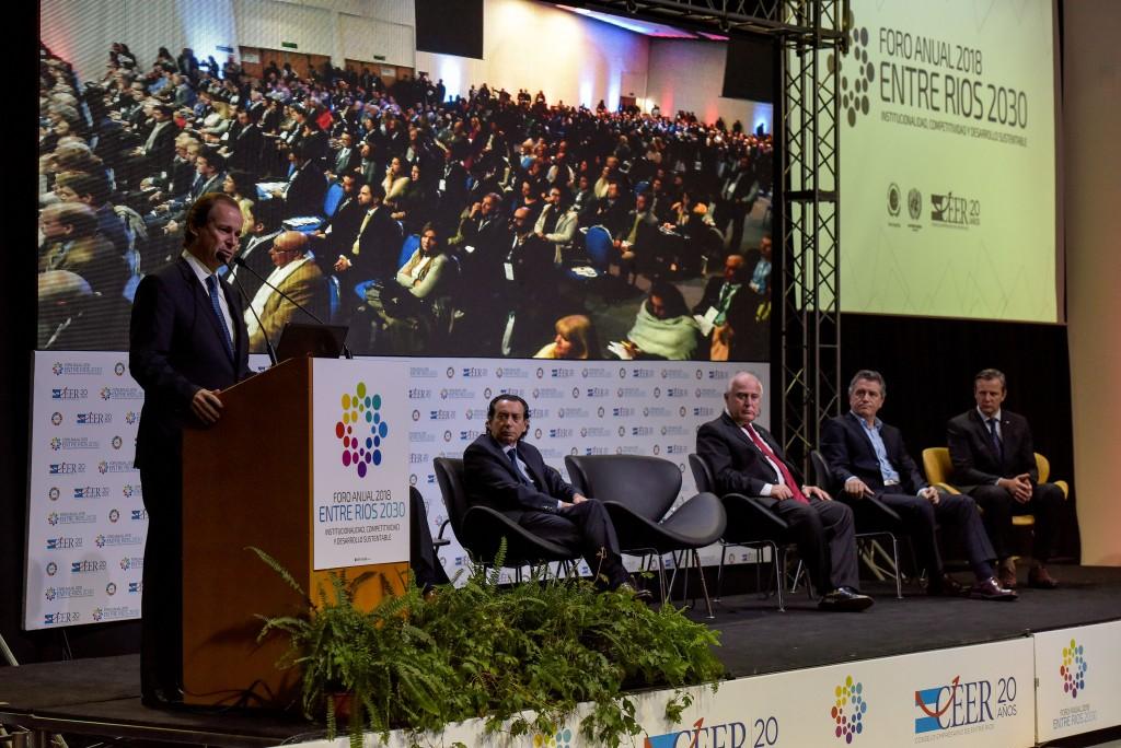 Bordet destacó la necesidad de generar modelos de desarrollo con inclusión social