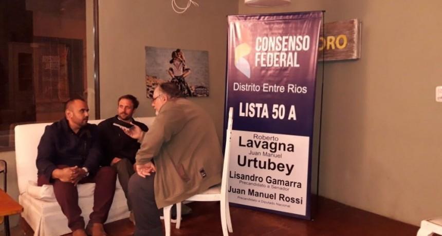 CONSENSO FEDERAL PRESENTÓ SUS CANDIDATOS EN NOGOYA
