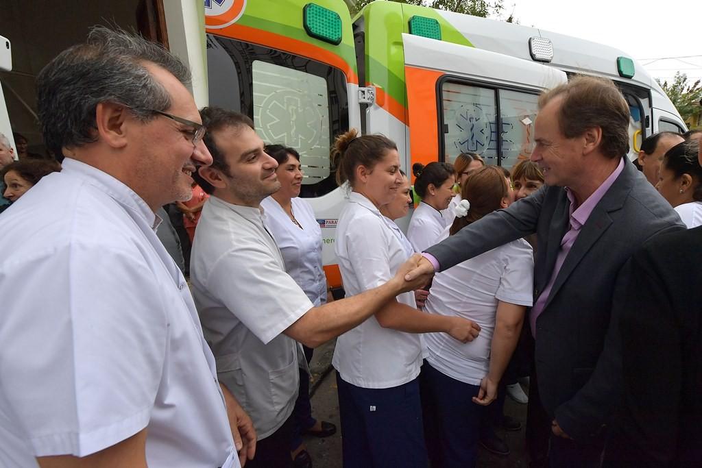 La provincia invirtió más de dos millones para la compra de aparatología médica e insumos