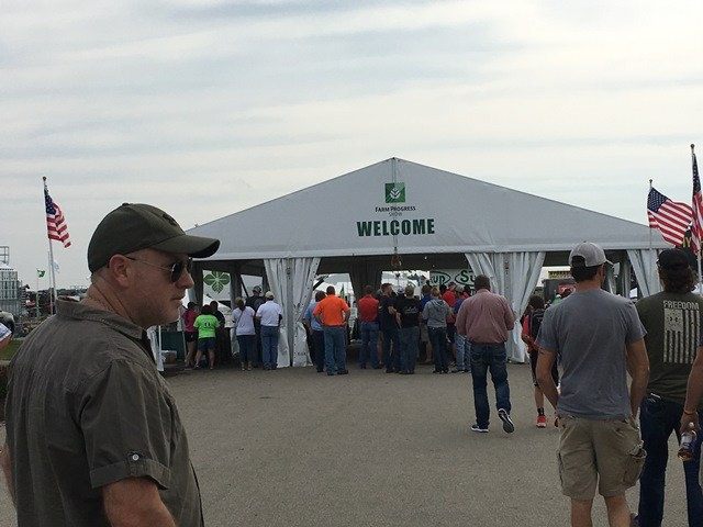 Visita institucional de AgroActiva al Farm Progress Show
