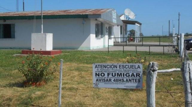 Comenzó el jucio oral por una escuela fumigada en Santa Anita