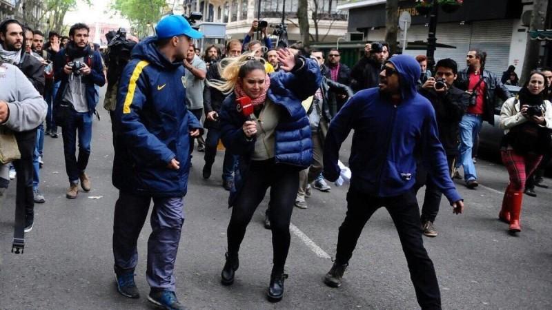 OTRA VEZ INFILTRADOS VIOLENTOS EN LA MARCHA POR SANTIAGO MALDONADO