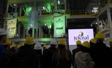 Teknal inauguró en Pergamino su nueva planta con tres líneas de producción de última generación