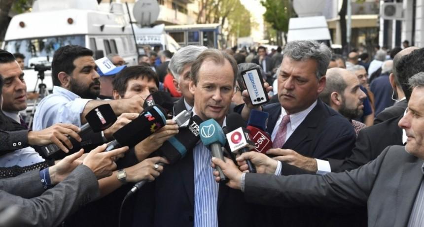 Bordet con Alberto Fernández:
