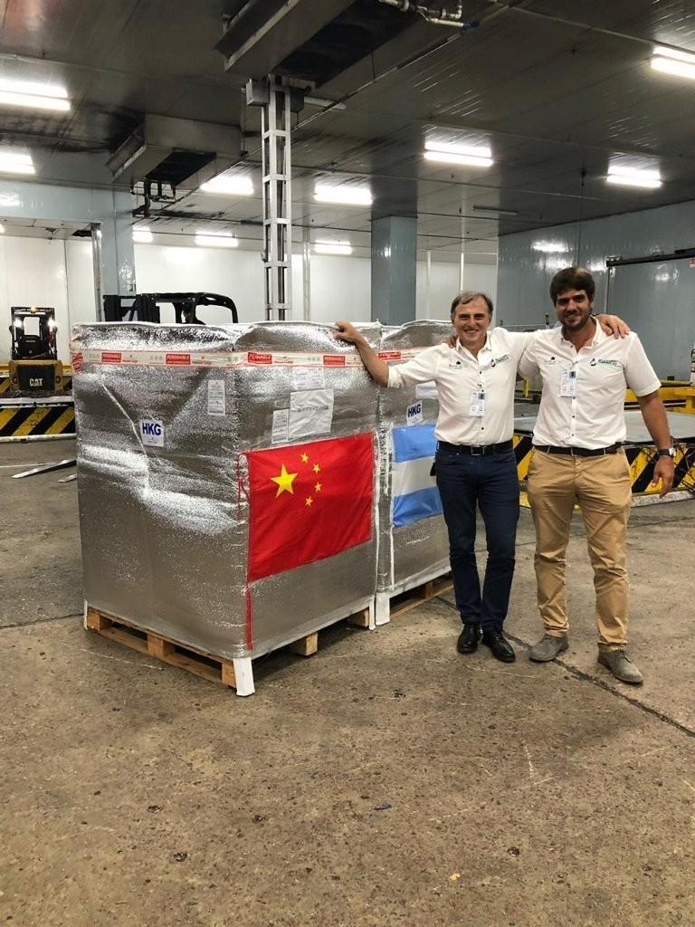 Entre Ríos protagoniza el primer embarque de arándanos argentinos frescos a China