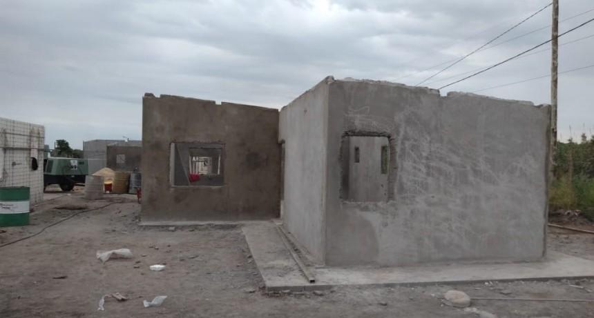 A buen ritmo la provincia construye 500 viviendas en Paraná