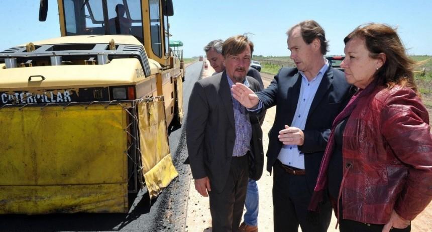 Con recursos propios, la provincia construirá los puentes en Don Cristóbal 1º, Nogoyá