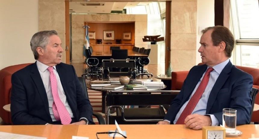 Bordet se reunió con Felipe Solá para avanzar en una agenda común con Nación